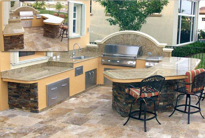 Florida Outdoor Kitchens Barbeque Outdoor Kitchens Bbq Grill